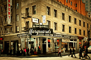Featured - Vintage San Francisco Marquards Little Cigar Store Powell Street 5D17950brun by Wingsdomain Art and Photography