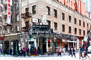 Wingsdomain Art and Photography - Vintage San Francisco Marquards Little Cigar Store Powell Street 5D17950wcstyle