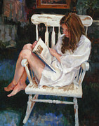 Nightgown Paintings - Vintage by Scott Harding