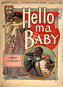 Sheet Music Digital Art - Vintage Sheet Music Cover Circa 1900 by New York Sunday Press
