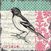 Vintage Songbird 2 Print by Debbie DeWitt