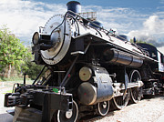 Featured - Vintage Steam Locomotive 5D29110 by Wingsdomain Art and Photography