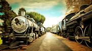 Wingsdomain Art and Photography - Vintage Steam Locomotive 5D29143brun