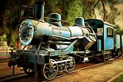 Wingsdomain Art and Photography - Vintage Steam Locomotive 5D29168brun