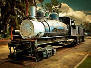 Wingsdomain Art and Photography - Vintage Steam Locomotive 5D29172brun