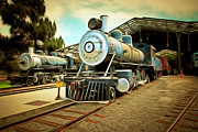 Wingsdomain Art and Photography - Vintage Steam Locomotive 5D29197brun