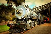 Wingsdomain Art and Photography - Vintage Steam Locomotive 5D29200brun