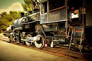 Wingsdomain Art and Photography - Vintage Steam Locomotive 5D29222brun