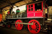 Wingsdomain Art and Photography - Vintage Steam Locomotive 5D29231brun