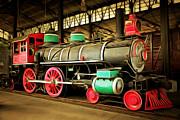 Wingsdomain Art and Photography - Vintage Steam Locomotive 5D29244brun