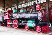 Wingsdomain Art and Photography - Vintage Steam Locomotive 5D29244wc