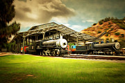 Wingsdomain Art and Photography - Vintage Steam Locomotive 5D29279brun