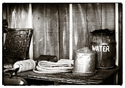 Old West Photos - Vintage Supplies by John Rizzuto