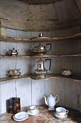 Old Shelfs Metal Prints - Vintage Metal Print by Svetlana Sewell