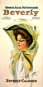 Color Lithographs Photo Acrylic Prints - Vintage Theatrical Poster 1904 Acrylic Print by Padre Art
