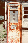Antique Pumps Prints - Vintage Tokheim Gas Pump Print by Marilyn Hunt