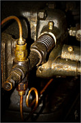 All - Vintage Tractor Engine Detail by Heiko Koehrer-Wagner