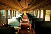 Wingsdomain Art and Photography - Vintage Train Passenger Car 5D28306brun