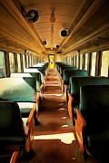 Wingsdomain Art and Photography - Vintage Train Passenger Car 5D28307brun