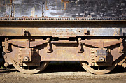 Tim Hester Prints - Vintage Train Print by Tim Hester