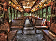 Trolley Photos - Vintage Trolley No. 948 by Susan Candelario