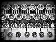 Processor Photo Metal Prints - Vintage Typewriter Metal Print by Edward Fielding