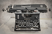 Typewriter Digital Art - Vintage Typewriter by Svetlana Sewell