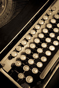 Typewriter Keys Photos - Vintage Typewriter_170 by Andria Patino