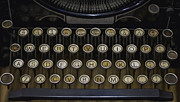 Typewriter Photos - Vintage Typology by Heather Applegate