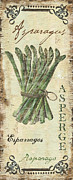 Rustic Painting Prints - Vintage Vegetables 1 Print by Debbie DeWitt