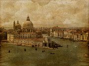 Venice Digital Art - Vintage Venice by Lois Bryan