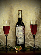 Vintage Wine Lovers Metal Prints - Vintage Wine Lovers Metal Print by Inspired Nature Photography By Shelley Myke