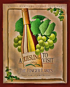 Framing Posters - Vintage Wine Poster Poster by Linda Phelps