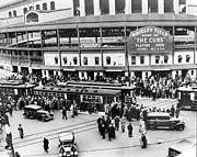 Vintage Photo Prints - Vintage Wrigley Field Print by Horsch Gallery