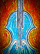 Violin Digital Art - Viola  by D Jackson