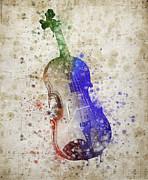 Violin Print by Aged Pixel