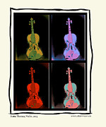 Violin Digital Art - Violin by Urbanmoon Photography