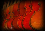 Violin Digital Art - Violins by Kathleen K Parker