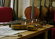 Music Art - Violins by Urte Berteskaite