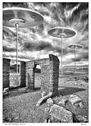Gary Warnimont Metal Prints - VIP Parking at Area 51 Metal Print by Gary Warnimont