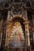 Virgen Del Rocio Reredos In Seville Cathedral Print by Artur Bogacki