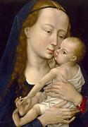 Famous Artists - Virgin and Child by Rogier van der Weyden