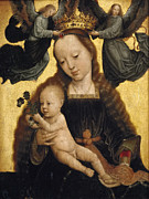 Gerard David - Virgin and Child with Angels by Gerard David