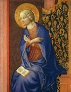 Famous Artists - Virgin of the Annunciation by Masolino da Panicale