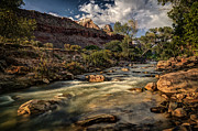Jeff Burton Metal Prints - Virgin River Metal Print by Jeff Burton
