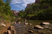 Ron Pettitt Prints - Virgin River Print by Ron Pettitt