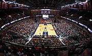 Cavaliers Photo Framed Prints - Virginia Cavaliers John Paul Jones Arena Framed Print by Replay Photos