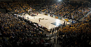 Rams Metal Prints - Virginia Commonwealth Rams Stuart Siegel Center Metal Print by Replay Photos