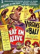 Release Digital Art Prints - Virgins of Bali Eatem Alive Print by Studio Release