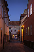 Visby Evening  Print by La di  Kirn